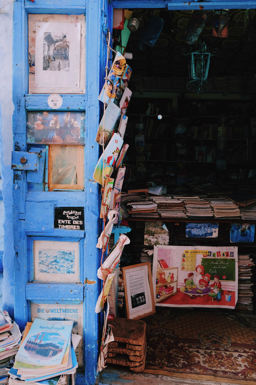 Médina, la ville bleue - Chefchaouen - Maroc
